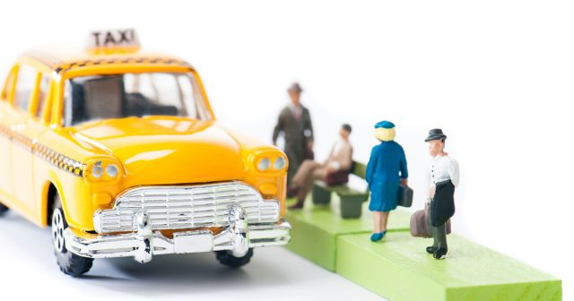 乗合タクシーを運行させよう!